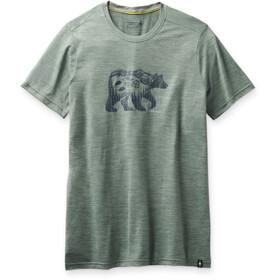 Smartwool Merino Sport 150 Skjorte Bear Camp-grafik Herrer, grøn
